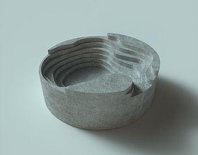 smoking Ashtray 3D print model