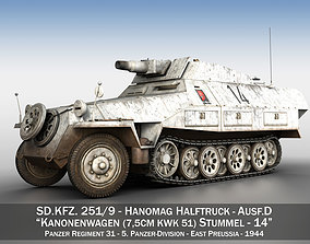 3D model SDKFZ 251 - Ausf D - Stummel - 14