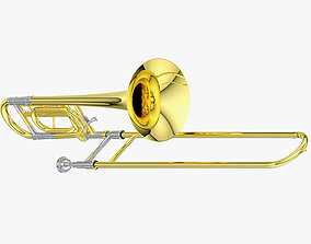 Trombone equipment 3D model