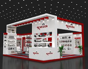 6x7Mtr Exhibition Stand 3D model