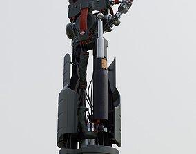 Sci Fi Robot arm 3D