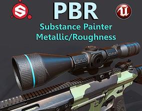 Super Sniper 3D asset