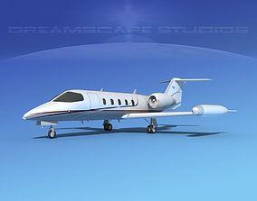 gates lear jet 35 V04 3D