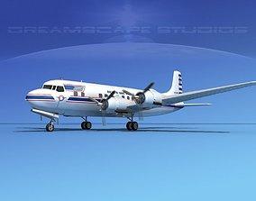 Douglas DC-6 Delta Airlines 1 3D