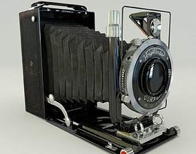 3D model Voigtlander Bergheil Compur video