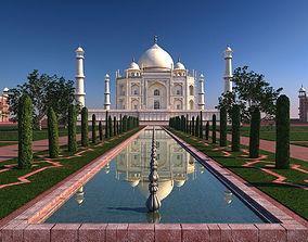 3D model The Taj Mahal
