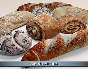3D asset PBR Bakery Pastries