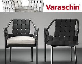 3D model Varaschin obi chair
