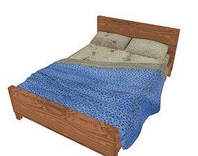 Bedcloth 05 3D model