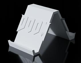 3D print model DOOM Smartphone Stand
