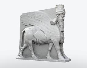 Lamassu Statue 3D print model