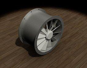 Direct Axial Fan 3D model