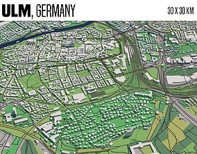 Ulm Germany 3D model