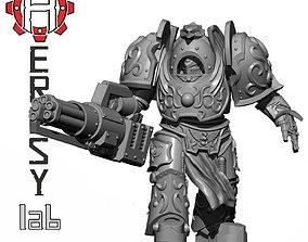 HeresyLab Talon Meka MK1 3D print model HL130