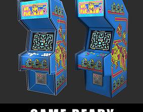 3D model Arcade Machine Game Ready