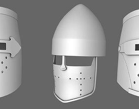 Medievil Knight Helmet 3D
