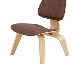 3D model Vitra Plywood Group - LCW-Leather
