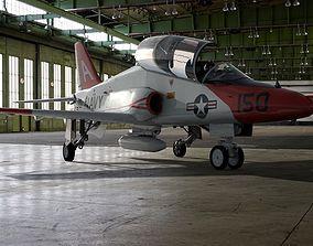 3D model McDonnell Douglas T-45 Goshawk Navy