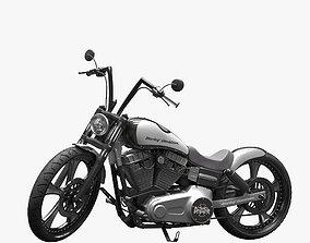 Harley Davidson Dyna Street Bob 2010 3D model