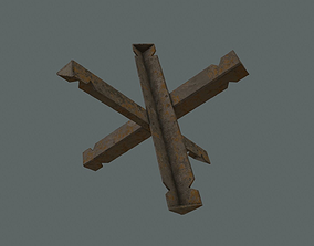 Hedgehog Barricade 3D model