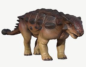 3D model realtime Ankylosaurus
