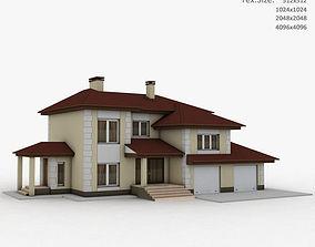 3D low Building