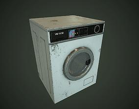 Old Washing Machine pbr 3D asset