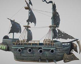 Ghost Ship 3D asset