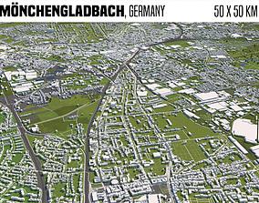 Moenchengladbach Germany 3D model