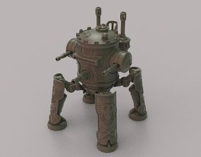 3D print model Iron Harvest fan mecha