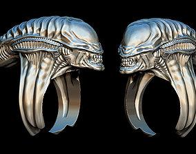 3D print model Alien ring