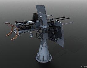 3D German 20mm FLAK 38