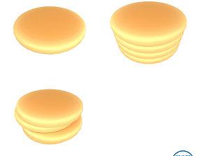 Pancake v3 Pack 01 3D asset