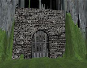 3D castle Portcullis - Castle gates