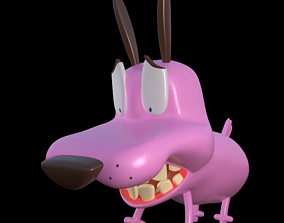 Courage the cowardly Dog 3d Printing Pose 7 3D asset