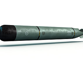 Torpedo Mark 46 3D model