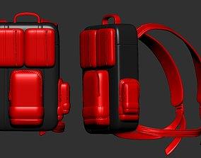 backpack sculpt 3d printable studio