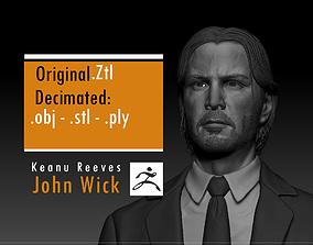 Keanu Reeves - John Wick 3D print model