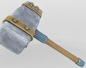 3D model Ancient Hammer