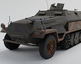 Hanomag sdkfz 251 3D model