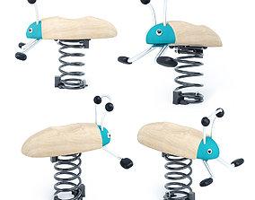 3D Forest bug Spring rocker