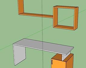 Vibrant Study Unit 3D model
