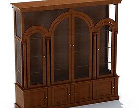 Classic Wooden Hutch 3D model