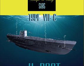 Type VII-C - Uboat 3D model
