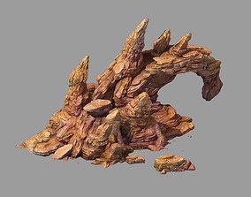 3D model Desert - bizarre boulder 02