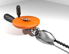 3D model Craftsman Handtools - Hand Drill