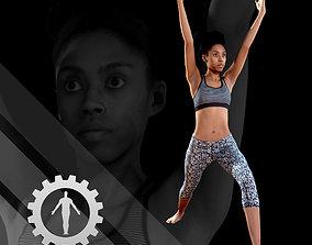 3D Female Scan - Sabrina Yoga Animation