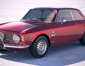 Alfa Romeo Giulia GTA 1965-1969 vray 3D