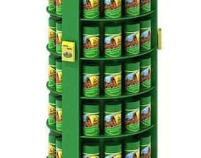 3D Cranberry Blueberry Cans