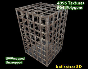 Old Cage - Textured 3D asset